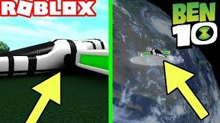BEN 10 *NEW PLANET* IN ROBLOX! (Ben 10 Arrival of Aliens)