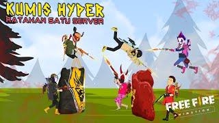 Animasi  Free Fire - Kumis Hyper Ratakan Satu Server Bermuda - Yu Animation