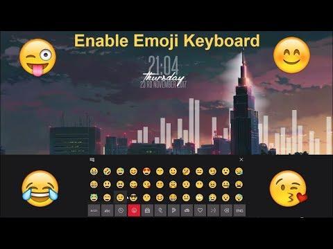 How to Enable the Emoji Keyboard in Windows 10 [HD]