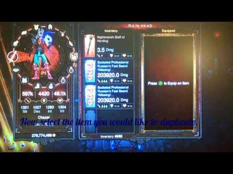 Diablo 3 Duplication glitch Working 2017 (Xbox 360)