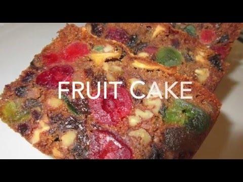 FRUIT CAKE - How to make FRUITCAKE Recipe