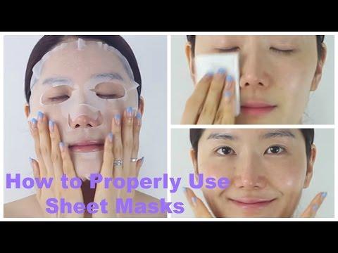 How to Properly Use Sheet Masks | Mask Sheet 101