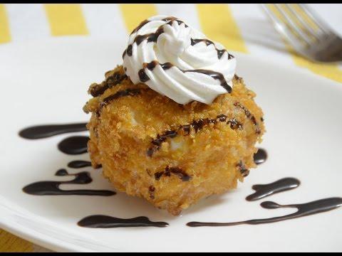 Fried Ice Cream Recipe | Quick Dessert