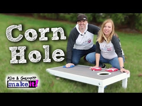 How To Make Cornhole Boards DIY Outdoor Games Lowe's