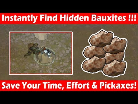 Trick To Find Iron Deposits With Hidden Bauxites! Last Day On Earth Survival