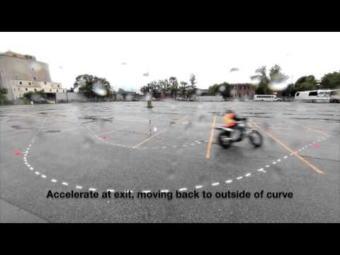 Riding Basics M2 Licensing Course - 4 of the test sections