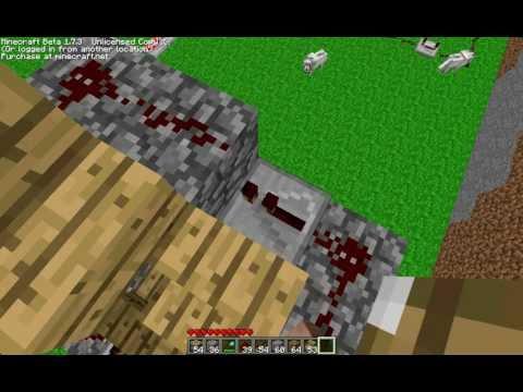 Minecraft Tutorials: Automatic Piston Elevator