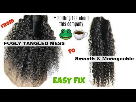 Help! I Got Sent a BAD BATCH of Hair | How to TRANSFORM your bundles | $10 DIY FIX