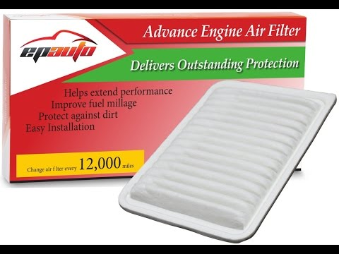 Camry Engine Air Filter Replacement