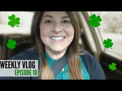 WEEKLY VLOG #10: Skype Calls with KrispySmore and Celebrating St. Patrick's Day!