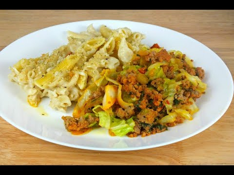 How To Cook Cabbage with Ground Turkey: Cabbage Recipes