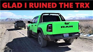 Destroying My Brand New 2021 Ram TRX Is The Best Decision I've Ever Made...Here's Why!
