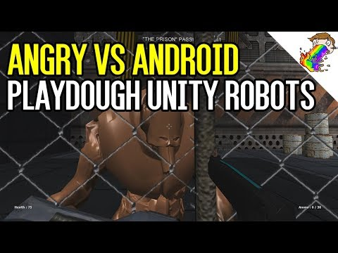 Angry VS Android | Playdough Robot Unity Assets