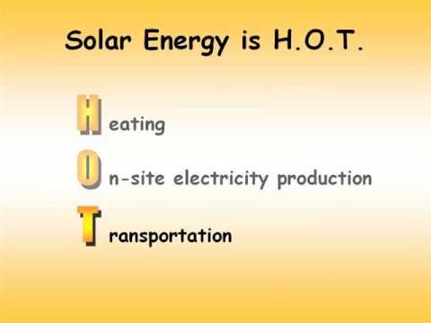 Solar Energy is H.O.T. - Discover Magazine's 1st place winner
