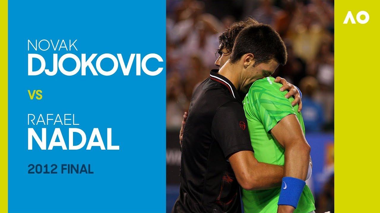 Novak Djokovic v Rafael Nadal - Australian Open 2012 Final   AO Classics