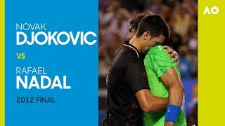 Novak Djokovic v Rafael Nadal - Australian Open 2012 Final | AO Classics
