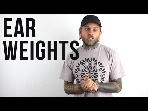 All About Ear Weights | UrbanBodyJewelry.com
