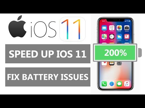 iOS 11 Battery Saving Tips & Tricks (Fix Draining)