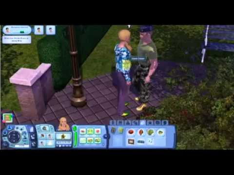 Sims 3 Homeless Challenge -Episode 3 -Sleeping Bags