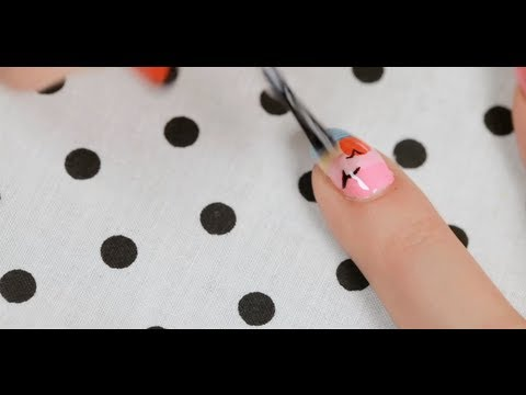How to Create a Sunset Design | Nail Art