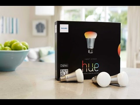 Philips Hue Smart Color LED Bulb Home Automation Wireless Light System