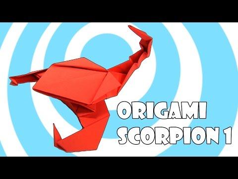 Origami Scorpion 1 Tutorial (Origamite)