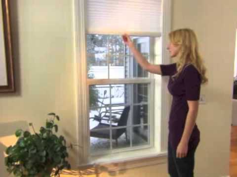 How to Operate Comfortex Cordless Pleated Shades