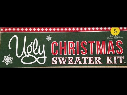 Making The Ugly Christmas Sweater Kit!