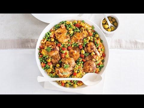 Spanish Chicken and Rice Supper | 2016 Milk Calendar