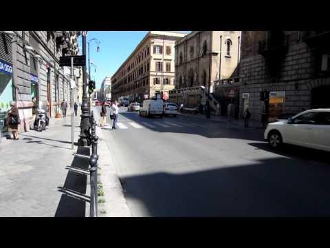 Sizilien Palermo  - Innenstadt  - Verkehr