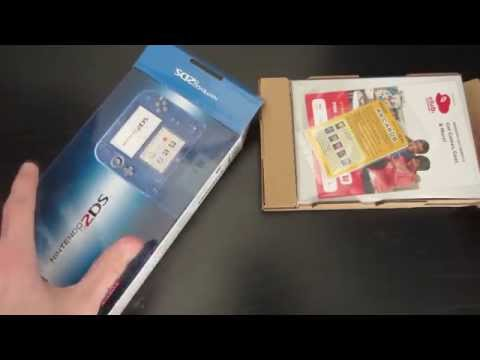 Nintendo 2DS Crystal Blue Unboxing