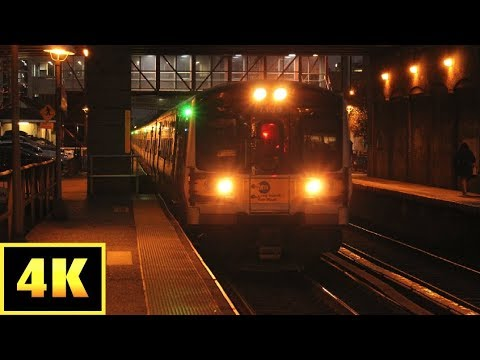 4K LIRR: Morning Rush at Mineola and NHP on my 21st Birthday