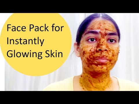 DIY instantly Glowing Skin | Remove Blemishes and acne face pack | licorice (Mulethi) aloe vera
