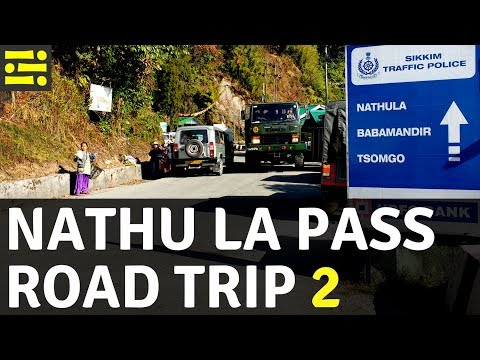 Nathu La Pass Road Trip - Part 2 [Uncut Full Video]    Icepeak Travel
