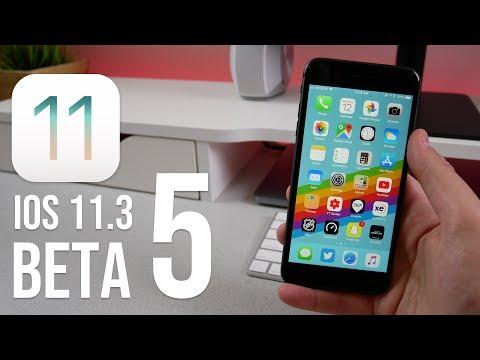 iOS 11.3 Beta 5 - What's New?