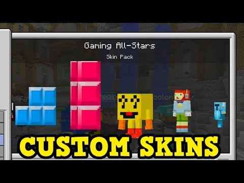 Minecraft Console - CUSTOM SKINS GAMEPLAY (& Why It Won't Happen)