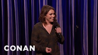 Beth Stelling Is Building Up Her Meat Coat  - CONAN on TBS