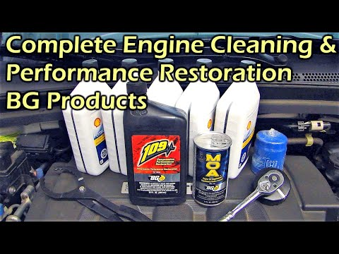 Complete Engine Clean & Performance Restoration - BG Products 109 / EPR / MOA