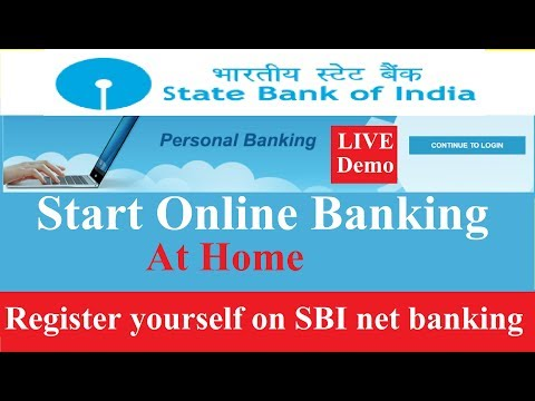 Register for SBI Internet Banking || online banking in 5 minutes (at home) || Latest || in Hindi ||