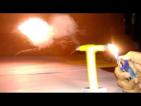 HOW TO MAKE A FIRE ROCKET LAUNCHER