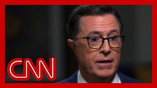 Stephen Colbert: This is the odd thing about Trump ...