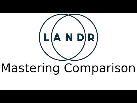 LANDR Mastering Vs Human Mastering