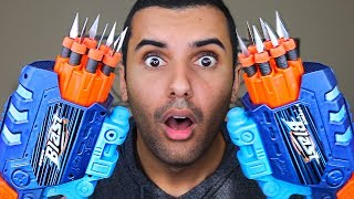 MOST DANGEROUS TOY OF ALL TIME!! (EXTREME NERF GUN KNOCK OFF EDITION!!) *INSANELY DANGEROUS*