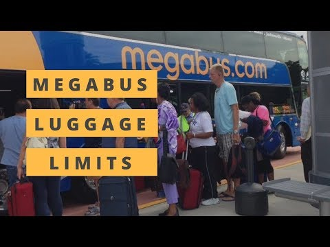 Megabus Luggage Limits | How Many Bags Can You Bring?