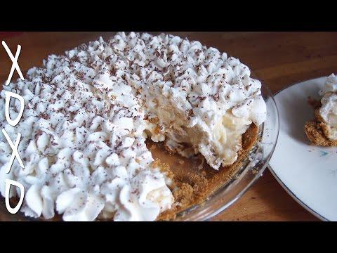 Banana Cream Pie Recipe w/ graham cracker crust