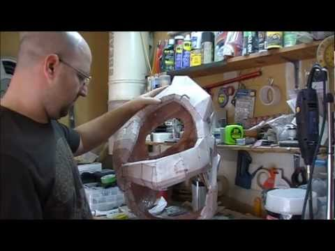 Pepakura - Rondo Coating & Cutting A Torso In Half (Episode 02)