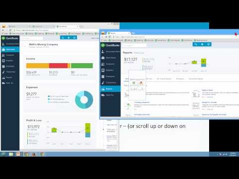New QuickBooks Online (QBO) - Navigating Tips & Tricks - Learn Michelle Long's One Click Trick