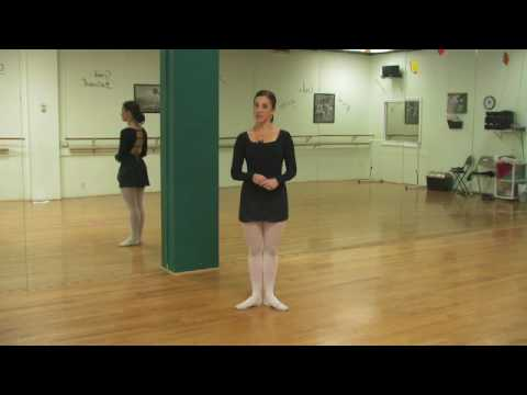 Ballet Lessons : How Do Ballerinas Stand on Their Toes?