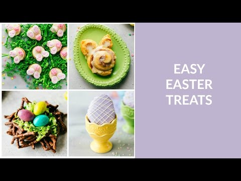 Four Easy Easter Treats