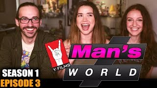 MAN'S WORLD   EPISODE 3   REACTION   Hope Jaymes & John Humphrey